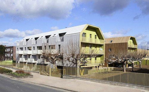 13. Bondy Social Housing GÇô Paris, France