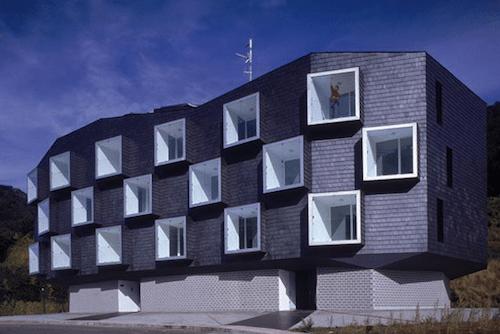 16. Social Housing for Mine Workers GÇô Asturias, Spain