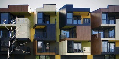 22. Tetris Apartments GÇô Ljubljana, Slovenia