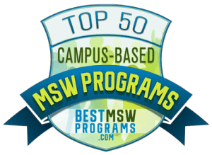 Top 50 Campus-Based MSW Programs